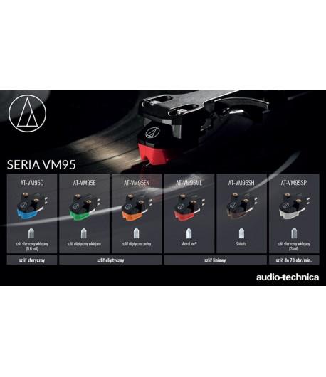 Audio-Technica AT-VM95 EN oryginalna wkładka gramofonowa